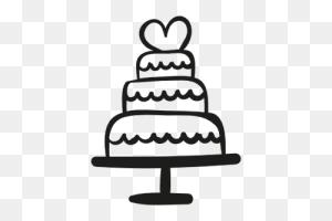 Walnut Tree Weddings And Events - Wedding Cake Clipart
