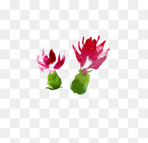Watercolor Hand Painted Fruits And Vegetables Flowers Transparent - Fruits And Vegetables PNG