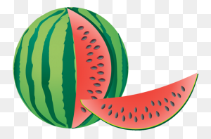 Watermelon Clipart - Watermelon Black And White Clipart