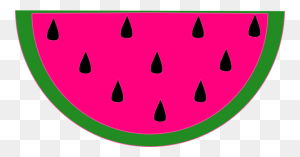 Watermelon Png Clip Arts For Web - Watermelon Black And White Clipart