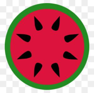 Watermelon Slice Clipart Black And White - Watermelon Black And White Clipart