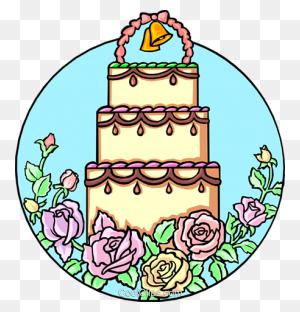 Wedding Clipart Of A Wedding Cake Coolclips Weddings Clipart - Bride Dress Clipart