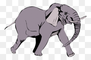 Woolly Mammoth Elephants Indian Elephant Mammal Cartoon Free - Mammoth PNG