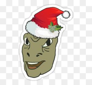 Yee Christmas Dank Gift Dank Stickers Gifts - Yee PNG