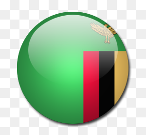 Zambia Flag Icon Download Rounded World Flags Icons Iconspedia - World Flags PNG