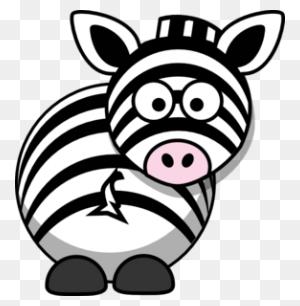 Zebra Clip Art - Zebra Clipart Black And White