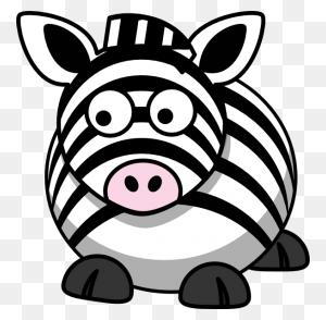 Zebra Left Clip Arts Download - Zebra Clipart