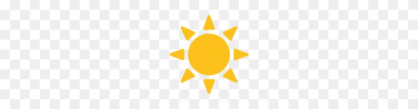 Sun Emoji PNG