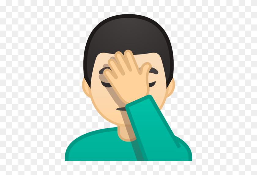 Emoji, Emoticon, Emoticons, Facepalm, Smile Icon - Facepalm