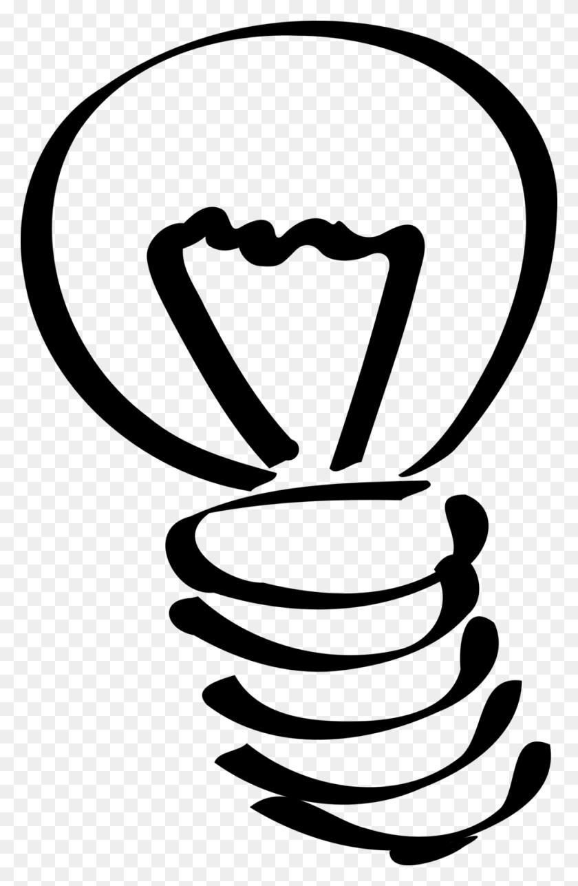 Light Bulb Clipart Black And White