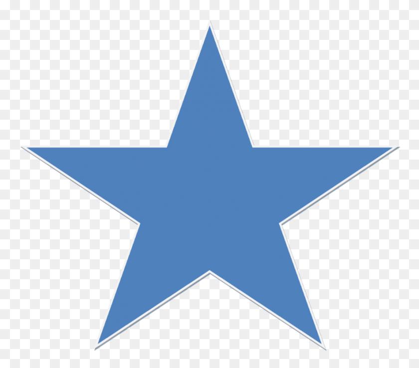 A Blue Star - Blue Stars PNG