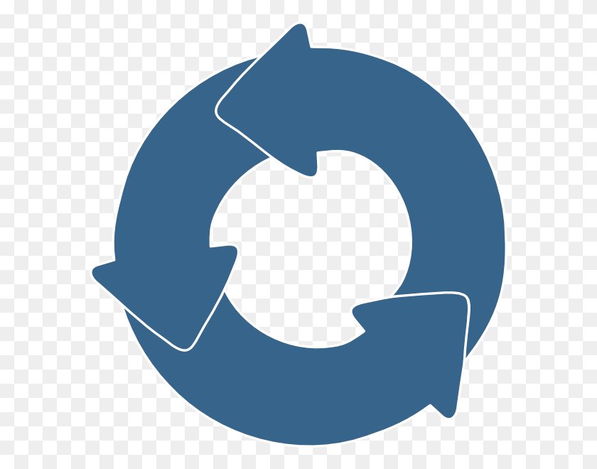 A Cyclic Cycle - Globalization Clipart
