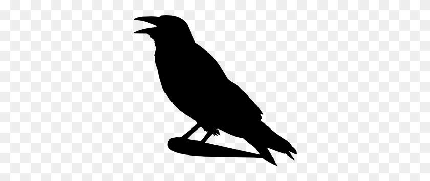 A Murder Of Ravens Librarian Ideas Crow Silhouette - Murder Clipart