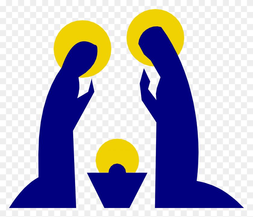 A Nativity Scene Nativity - Baby Jesus Manger Clipart