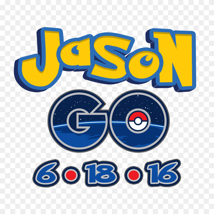 A Pokemon Go Mitzvah Logo Go Party Logos - Pokemon Go Logo PNG