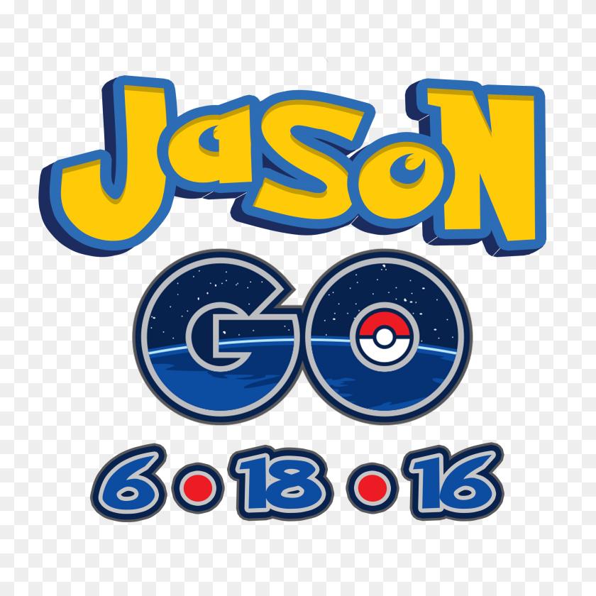2400x2400 A Pokemon Go Mitzvah Logo Go Party Logos - Pokemon Go Logo PNG