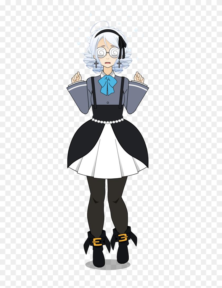 A Precious Maid - Maid PNG