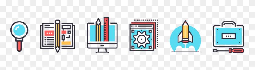 A Step Website Design Process For Clients - Website Design Clipart
