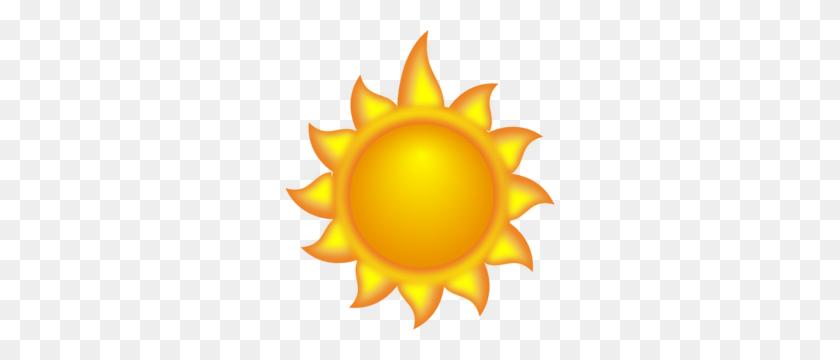 A Sun Cartoon With A Long Ray Clip Art - Ray Of Sunshine Clipart
