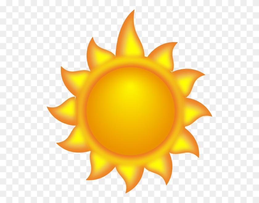 A Sun Cartoon With A Long Ray Clip Arts Download - Yellow Sun Clipart