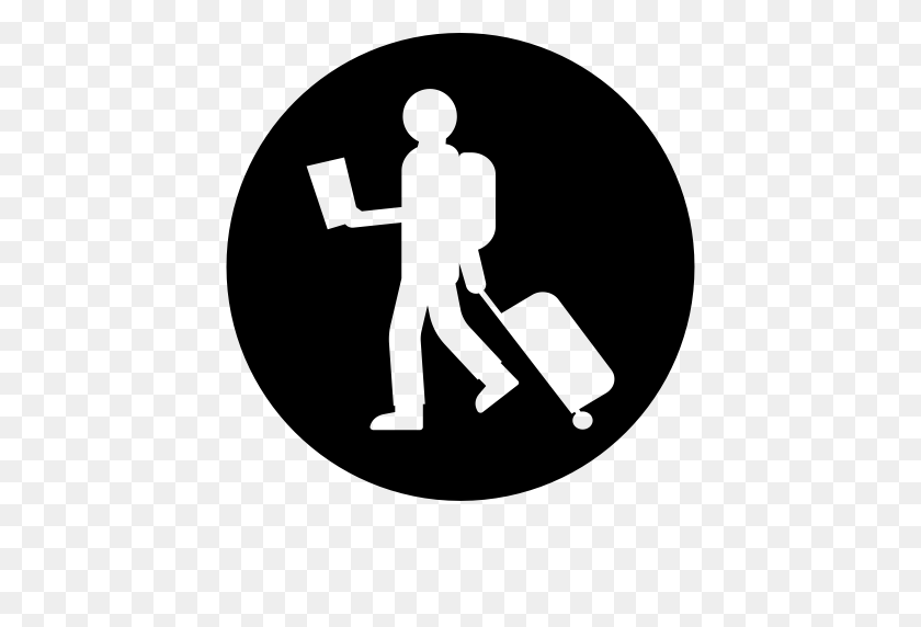 A Tourist, Tourist, Member Icon With Png And Vector Format - Tourist PNG