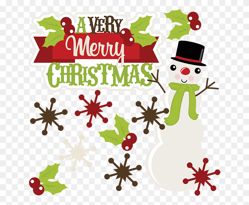A Very Merry Christmas Christmas Clipart Cute Clipart Cute - Merry Christmas Clip Art Images