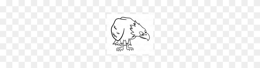 Abeka Clip Art Bald Eagle Looking Down Bald Eagle Clipart Black