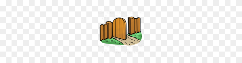 Abeka Clip Art Open Gate - Open Gate Clipart