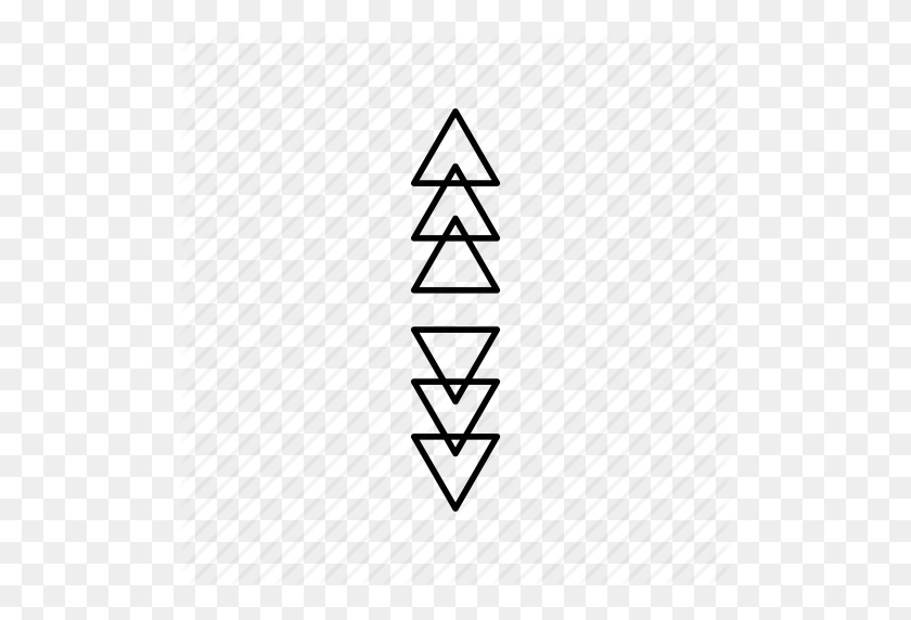 Abstract, Hipster, On Trend, Shapes, Triangle Icon - Abstract Shapes PNG