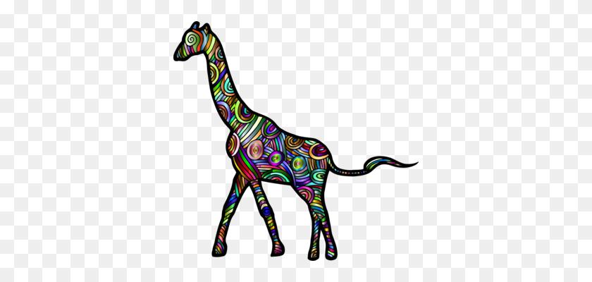 Acacus Mountains Northern Giraffe Reticulated Giraffe Animal - Mountain Goat Clipart