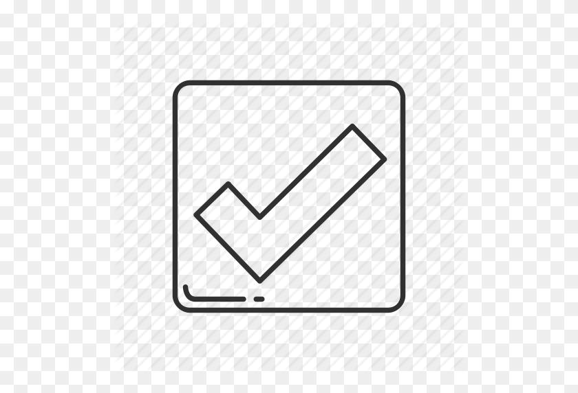 512x512 Accept, Check, Check Mark, Check Symbol, Emoji, Square Check - Check Emoji PNG