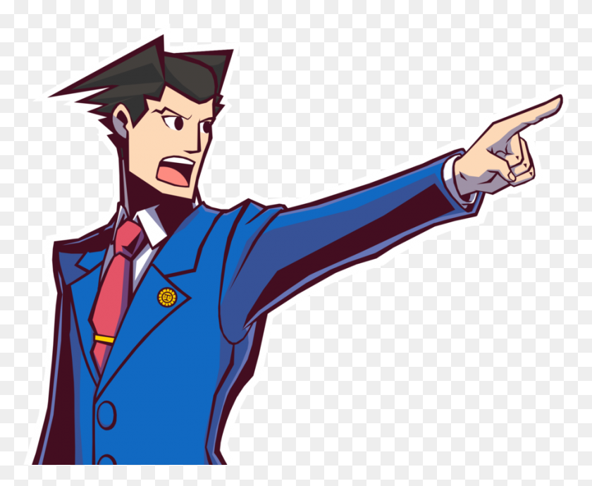 Ace Attorney Png Transparent Ace Attorney Images Phoenix Wright