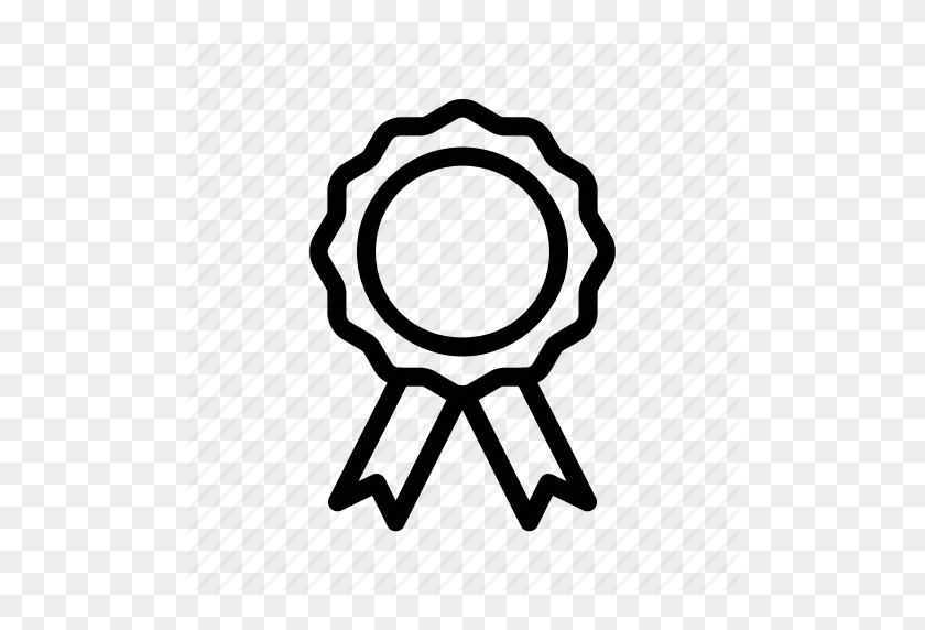 Achievement, Badge, Goal, Medal, Reward Icon - Medal Clipart Black And White
