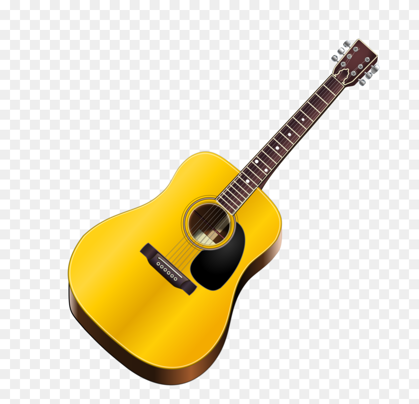 Acoustic Guitar Acoustic Electric Guitar Bass Guitar Free - Steel Guitar Clip Art