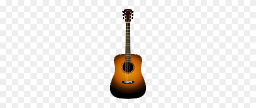 Acoustic Guitar Clip Art Free Vector - Playing Guitar Clipart