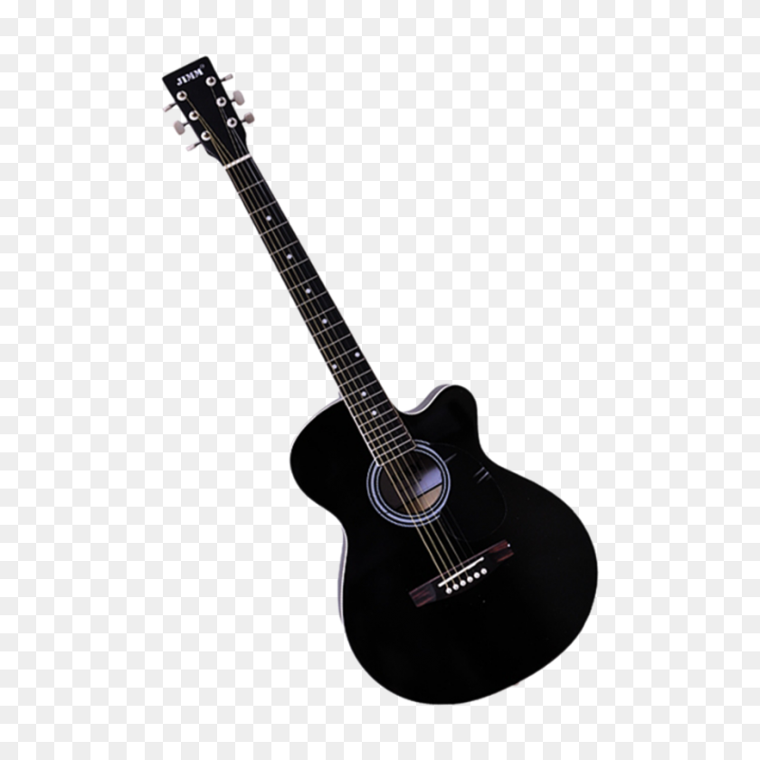 Acoustic Guitar Png Black And White Transparent Acoustic Guitar - Electric Guitar PNG