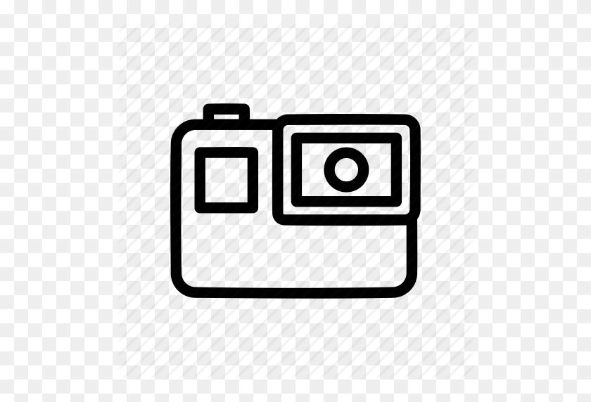 Gopro Hero Camera Png Vector - Transparent Background Camera Clip Art  (#247202) - PikPng
