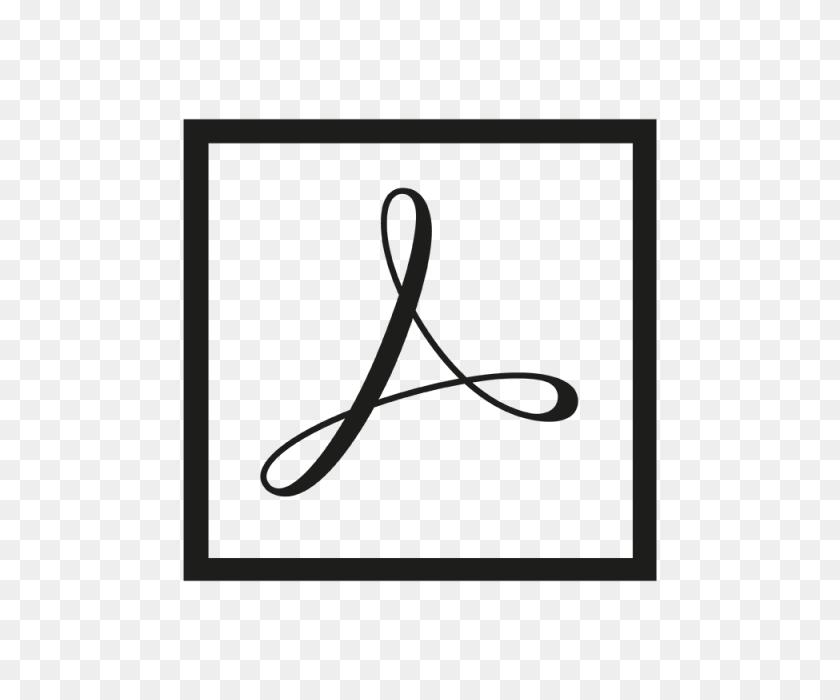 Adobe Acrobat Icon Logo Template For Free Download - Acrobat