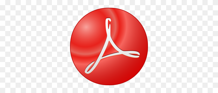 Adobe Acrobat Symbol Clip Art - Adobe Clipart