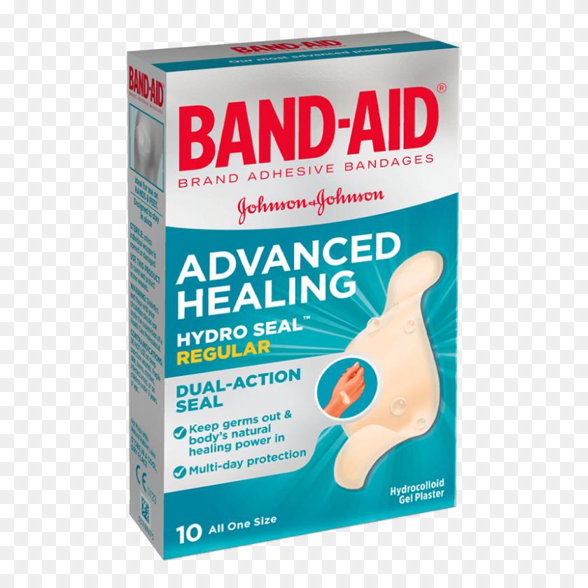 Advanced Healing Regular Band Brand Adhesive Bandages - Band Aid PNG