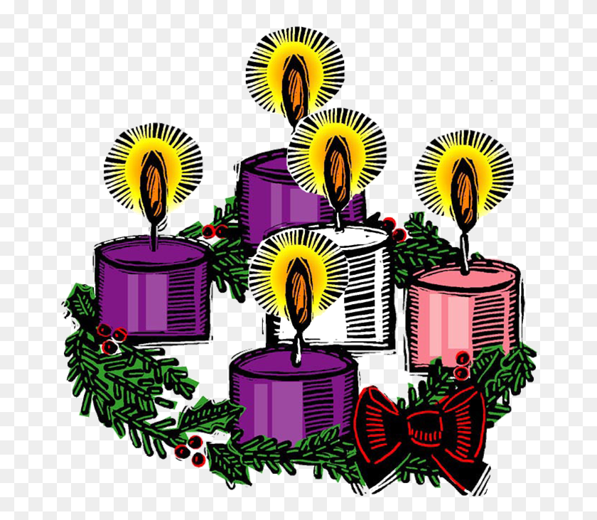 674x672 Advent Candle Clipart - Free Clipart Palm Sunday