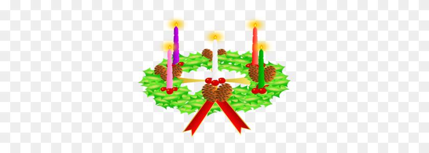 299x240 Advent Wreath Clip Art - Free Clipart Nativity Scene