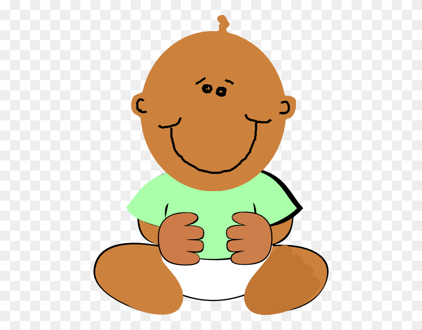 African American Baby Clipart - African American Clip Art