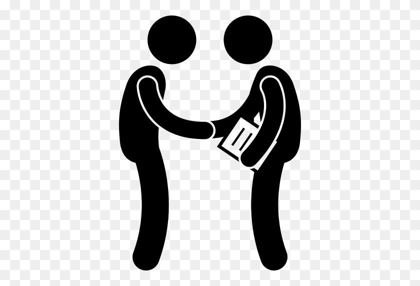 Agreement, Deal, Handshake, Gestures, Hands And Gestures Icon - Agreement Clipart