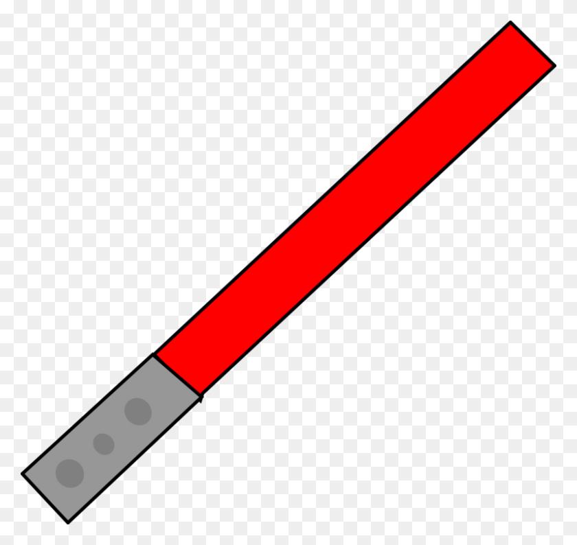 Ahsoka Tano Lightsaber Star Wars Drawing - Red Lightsaber PNG