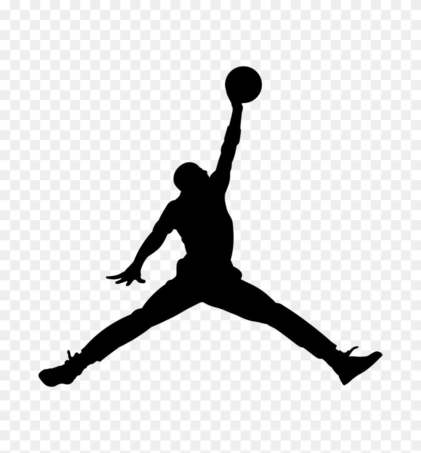 Air Jordan Logo Png Transparent Vector - Jumpman Logo PNG