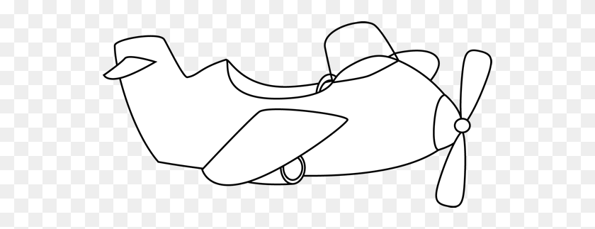 Airplane Black And White Clipart Images Pictures - Old Airplane Clipart