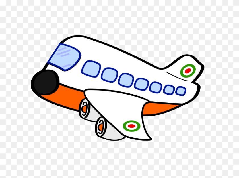 Airplane Clipart - Cute Bulldog Clipart