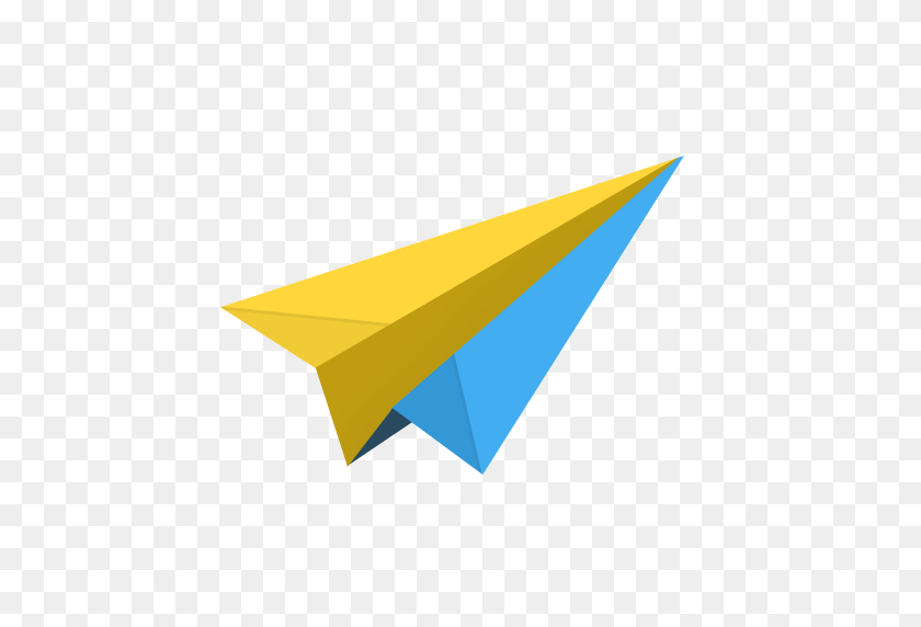 Airplane, Cloud, Email, Mail, Message, Messages, Origami, Paper - Paper Airplane PNG