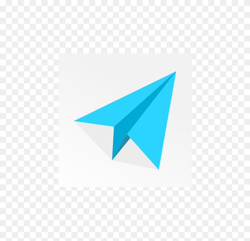 Airplane Paper Plane Computer Icons Flight - Paper Airplane PNG